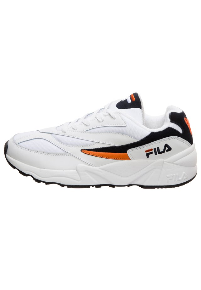 HERITAGE V94M LOW HERREN - Sneakers - white / fila navy / orange