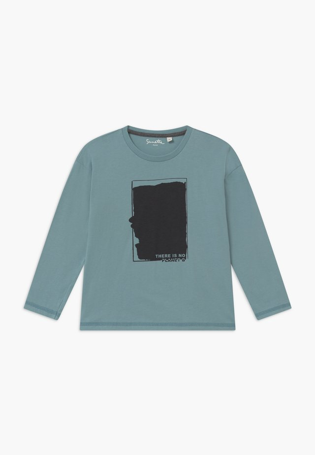 PURE KIDS - Langærmede T-shirts - blue ice