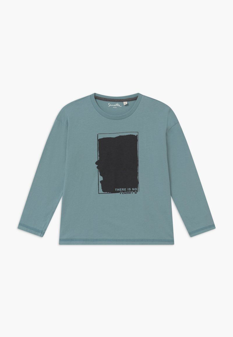 Sanetta - PURE KIDS - Long sleeved top - blue ice