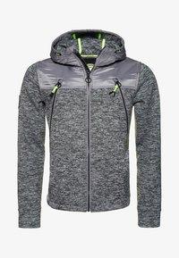 mottled granite gray