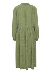 Denim Hunter - Shirt dress - oil green dot print - 5