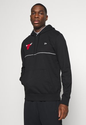 NBA CHICAGO BULLSPIPING HOODY - Luvtröja - black