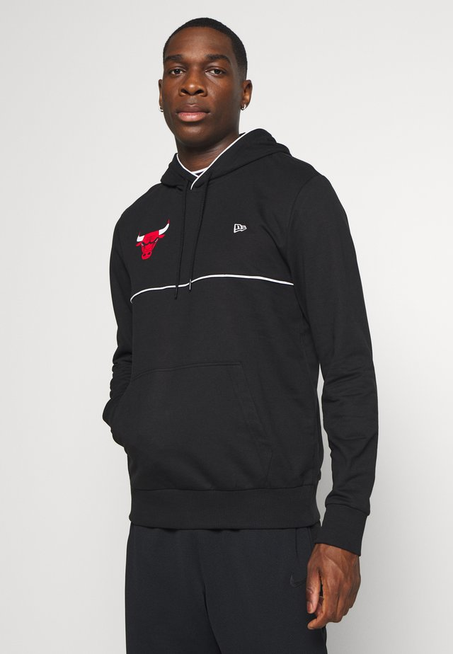 NBA CHICAGO BULLSPIPING HOODY - Hoodie - black