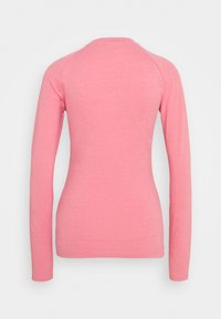 adidas Originals - LONG SLEEVE TEE - Bluzka z długim rękawem - hazy rose/white
