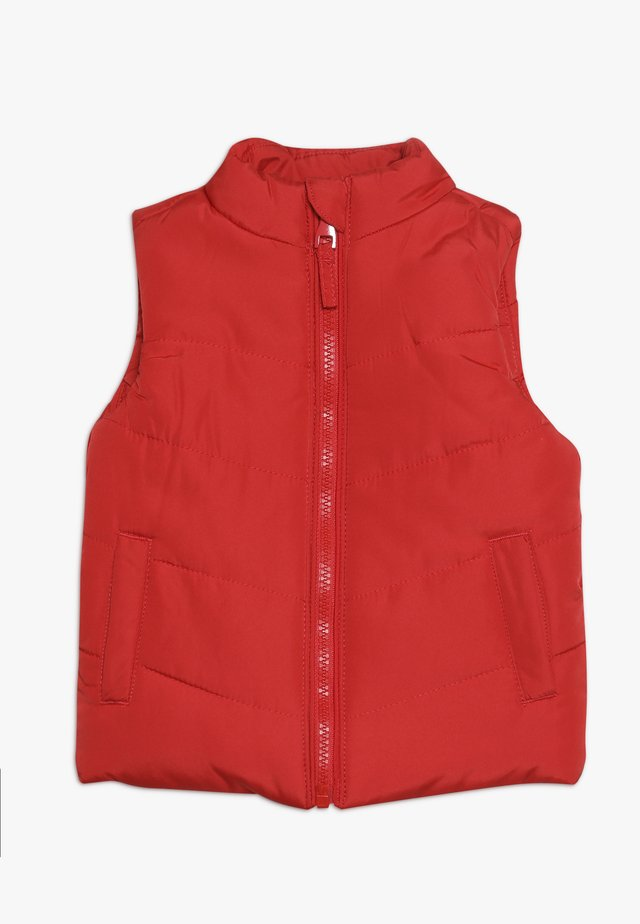 BABY GILET - Veste sans manches - red