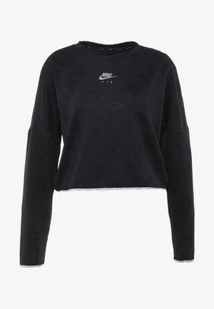 AIR MIDLAYER - Treningsskjorter - black
