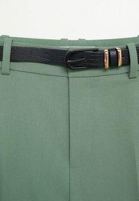 Mango - BOREAL - Chino kalhoty - groen - 7