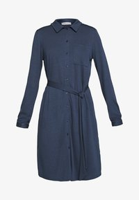 Moss Copenhagen - MELISSA SHIRT DRESS - Jersey dress - sky captain - 4