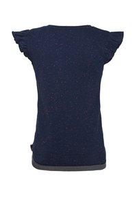 WE Fashion - MIT GLITZER-DETAIL - T-shirt con stampa - dark blue - 1