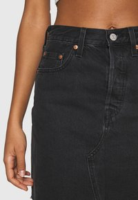 Levi's® - DECON ICONIC SKIRT - Mini skirt - dark gossip - 4