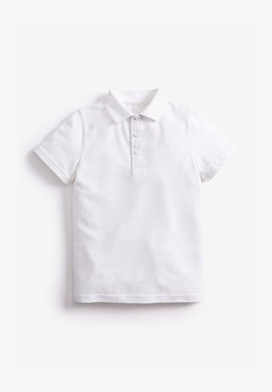 2 PACK CONCEALED FASTENING POLOSHIRTS - Poloshirt - white