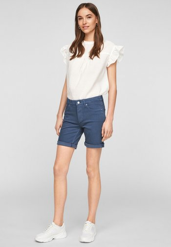 Denim shorts - faded blue