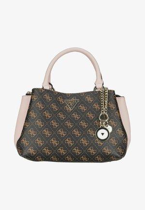 Handbag - brown/blush