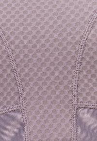 Nike Performance - ALPHA BRA - High support sports bra - purple smoke/dark raisin - 2