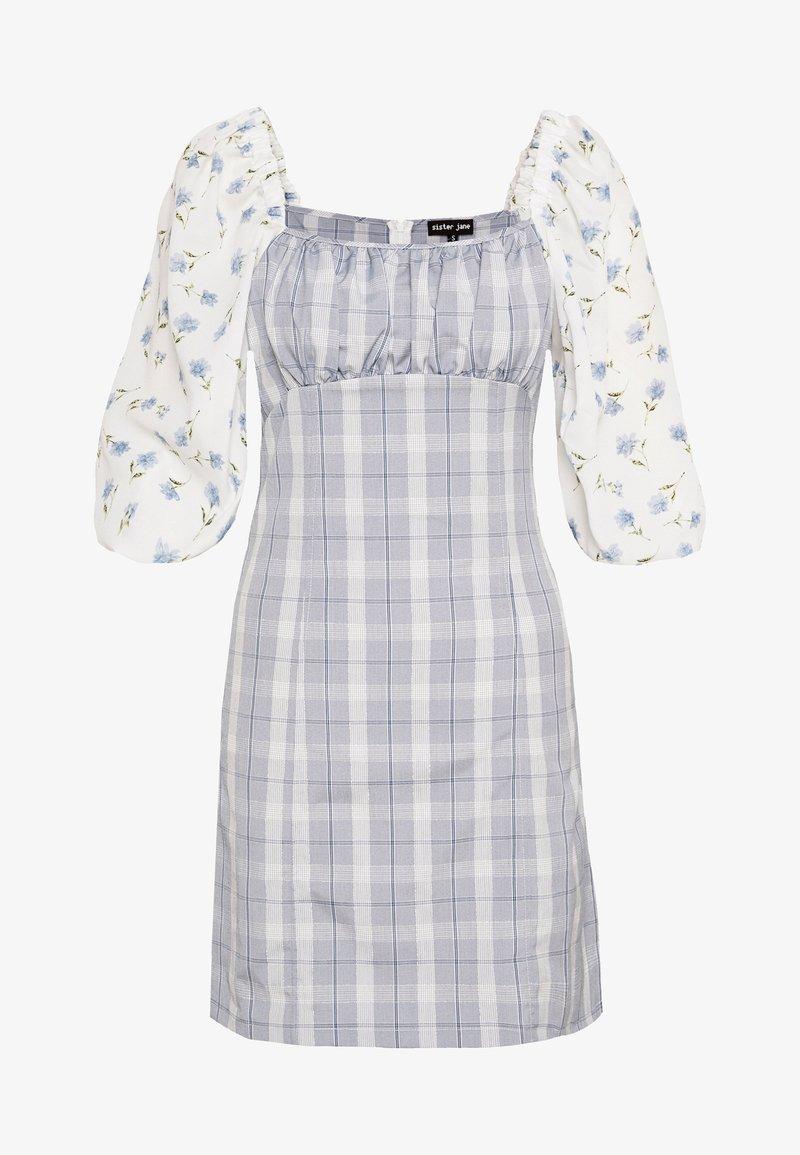 Sister Jane - PERENNIAL FLORAL MINI DRESS - Denní šaty - blue