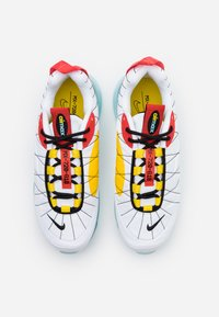 Nike Sportswear - MX-720-818 - Trainers - white/black/speed yellow/chile red/bleached aqua - 3
