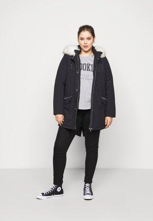 BROOKLYN TEE - Print T-shirt - dark grey