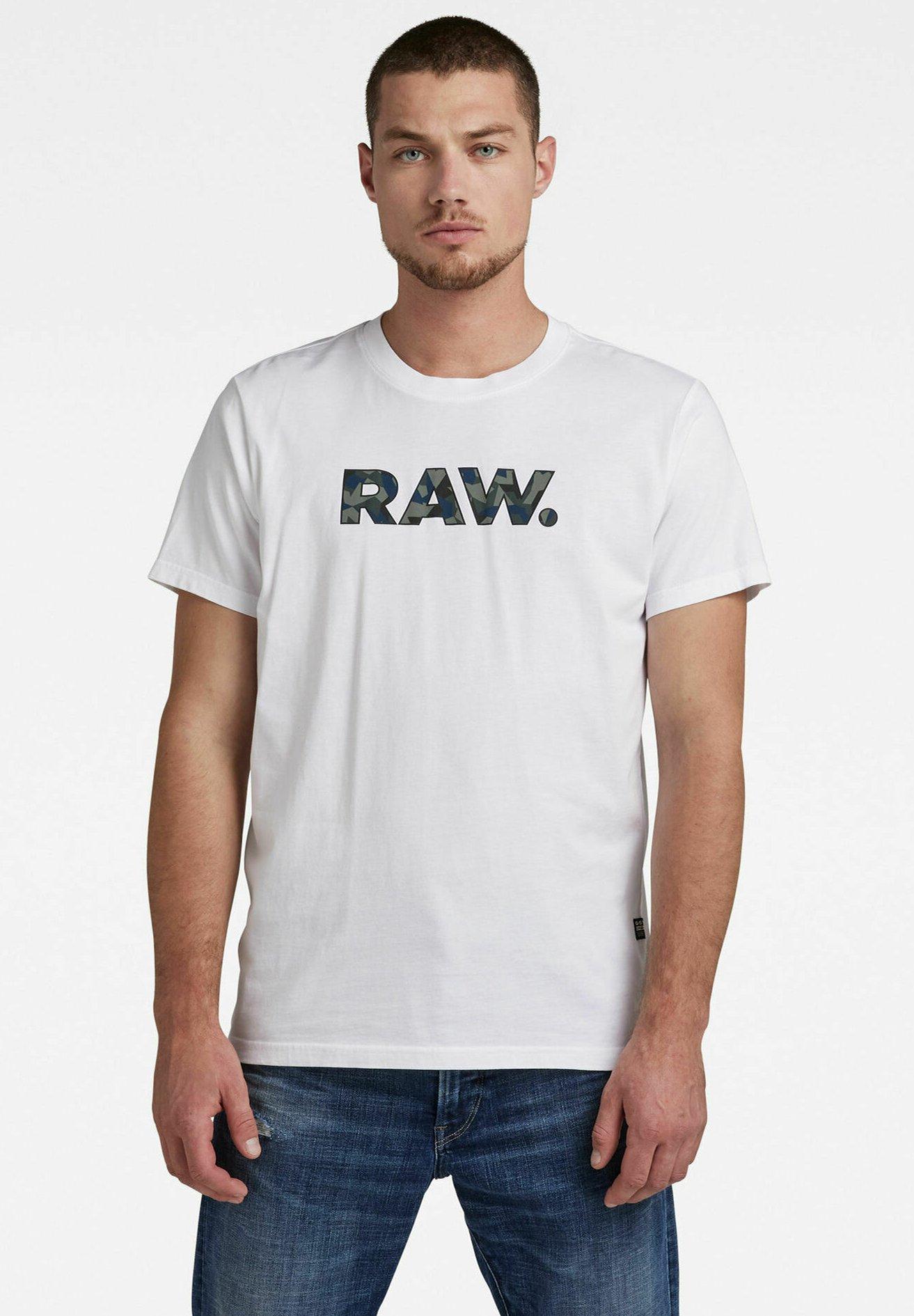 Homme VLOOKUP RAW. GRAPHIC R T - T-shirt imprimé