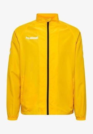 Training jacket - sports yellow