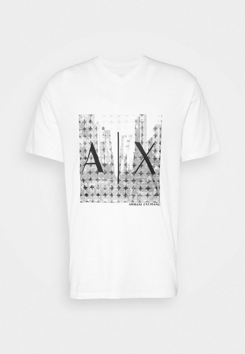 Armani Exchange - T-Shirt print - white