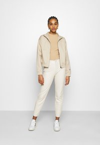 Monki - Long sleeved top - beige - 1