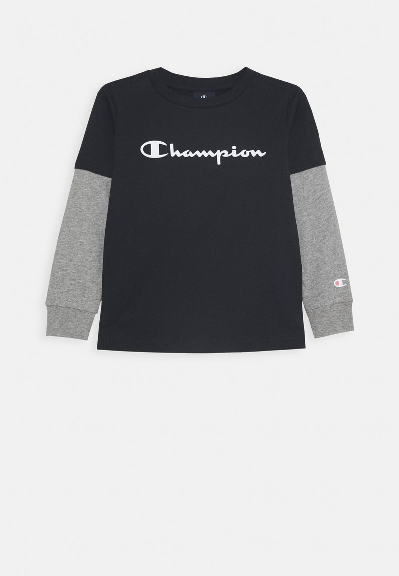 Champion - LEGACY AMERICAN CLASSICS LONG SLEEVE - Top s dlouhým rukávem - dark blue