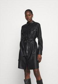 Opus - WELONI - Robe chemise - black - 0