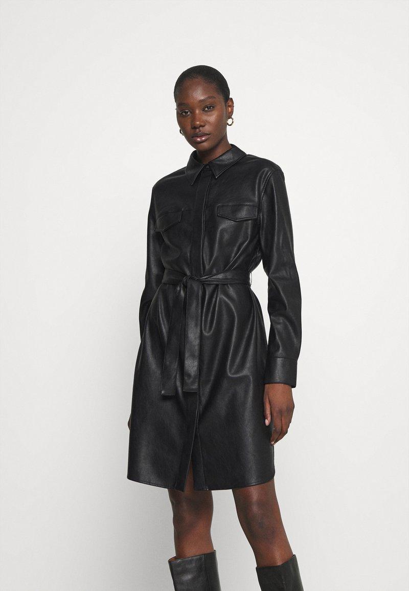 Opus - WELONI - Robe chemise - black