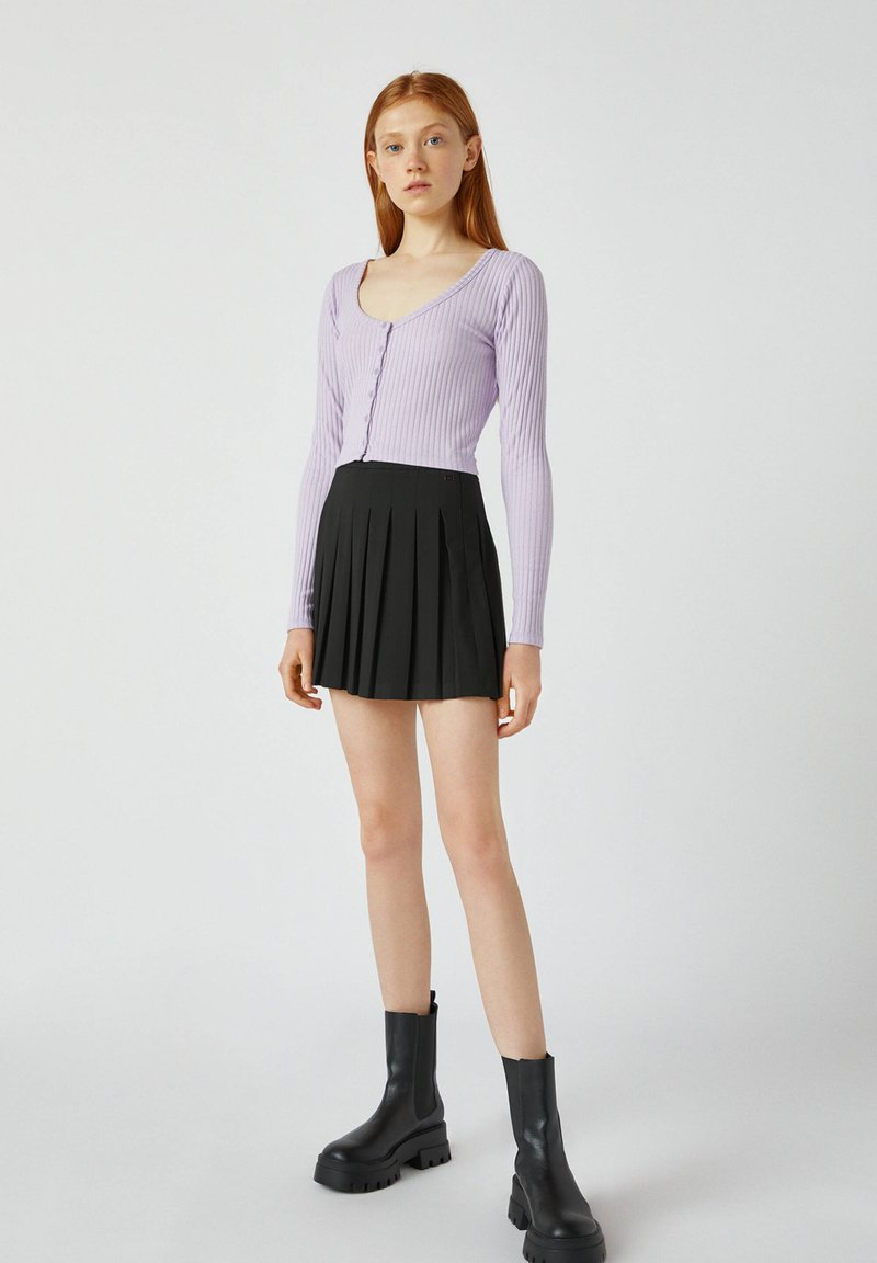 PULL&BEAR - Kardigan - purple