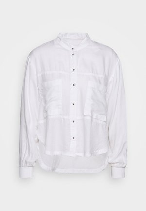 C-SUPER-E - Button-down blouse - white