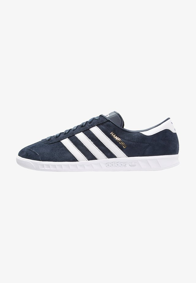 HAMBURG - Sneakers - collegiate navy/white/gold metallic