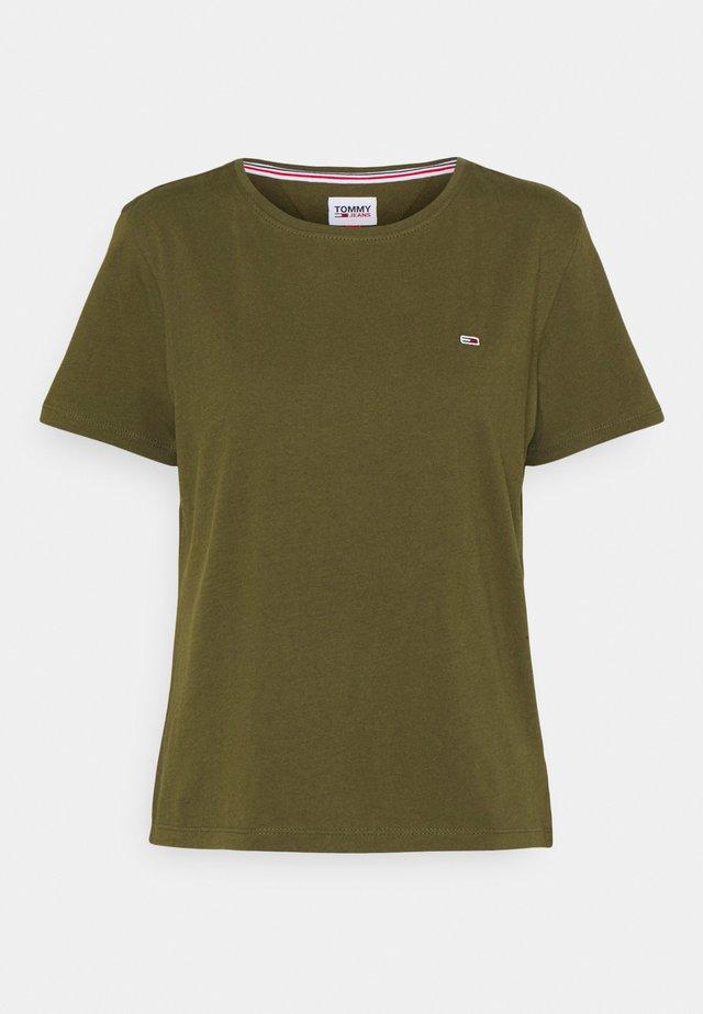 SOFT TEE - T-shirts basic - northwood olive