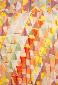 More & More - SKIRT MIDI - A-line skirt - rose peach multicolor - 2