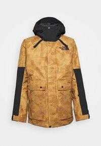 BALFRON JACKET - Ski jacket - tan/black