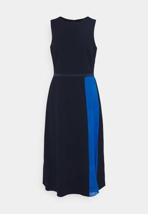 LUXE TECH 2-TONE DRESS - Day dress - navy/boysenber