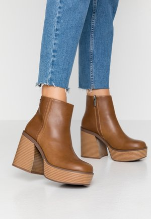 SETENTA - High heeled ankle boots - god