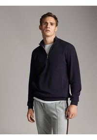 Massimo Dutti - Sweatshirts - dark blue - 0