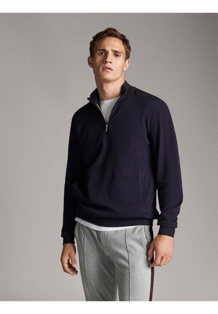 Massimo Dutti - Sweatshirts - dark blue