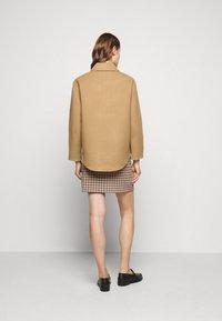 Claudie Pierlot - GAYA - Short coat - camel - 2