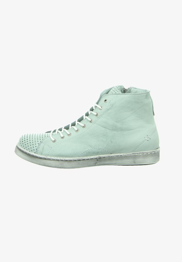 High-top trainers - mint