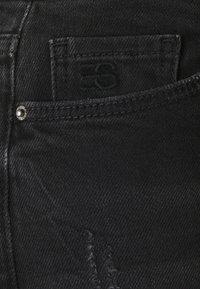 Esprit - Straight leg jeans - black dark wash - 2