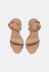 Even&Odd - Sandaalit nilkkaremmillä - beige - 5