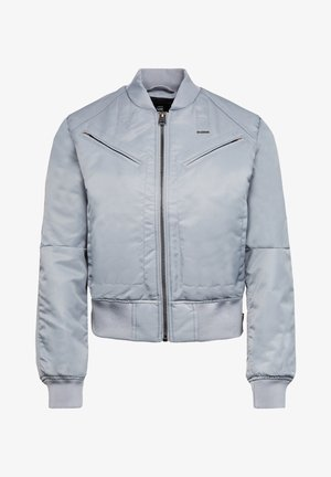 ZIP POCKET CROPPED BOMBER - Blouson Bomber - dim grey