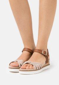 s.Oliver - Platform sandals - old rose - 0