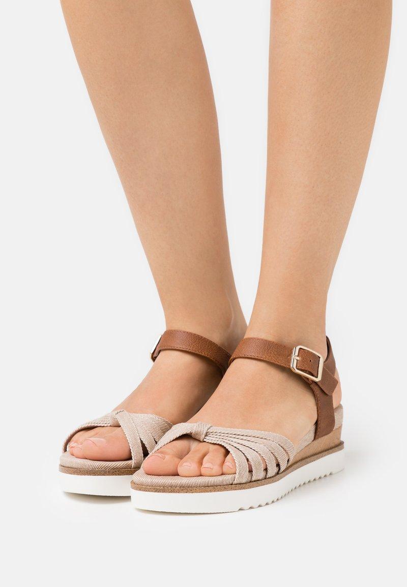 s.Oliver - Platform sandals - old rose