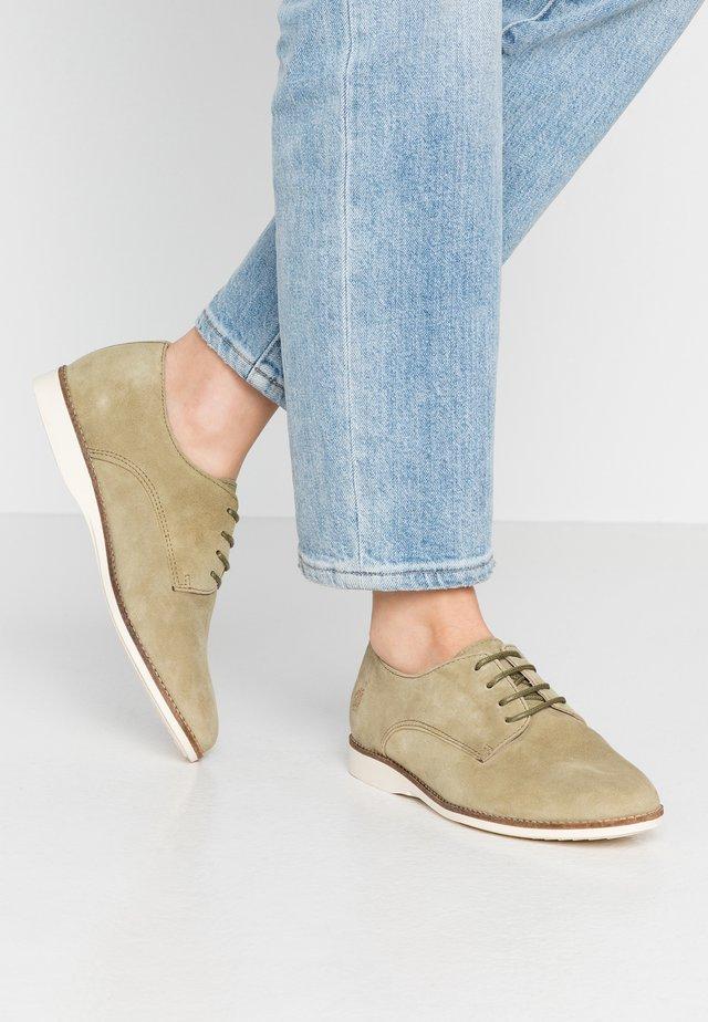 ROSE - Sznurowane obuwie sportowe - khaki