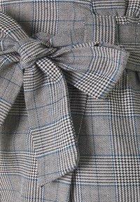 JDY - JDYTARA PANTS - Bukse - dark grey melange/blue - 2