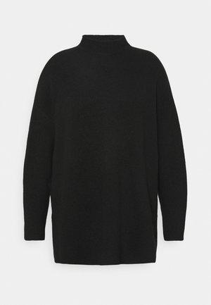 VMPLAZA HIGHNECK LONG - Jumper - black