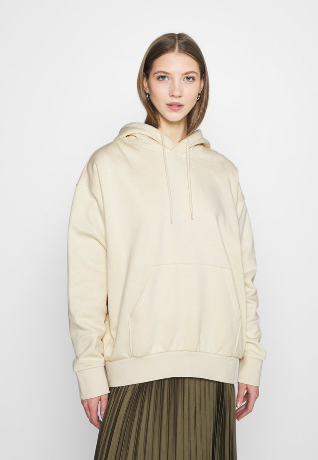 ALISA HOODIE - Sweat à capuche - light beige