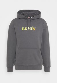 RELAXED GRAPHIC - Hoodie - black